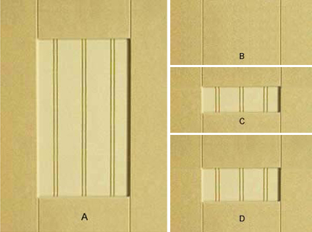 Cnc Woodcraft 5100 Double Bead Shaker Mdf Door
